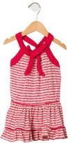 Little Marc Jacobs Girls' Logo Print Sleeveless Dress