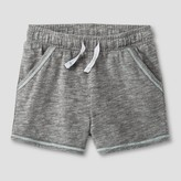 Cat & Jack Baby Girls' Lounge Shorts Heather Gray