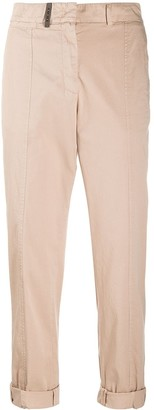 Peserico Cropped Chino Trousers