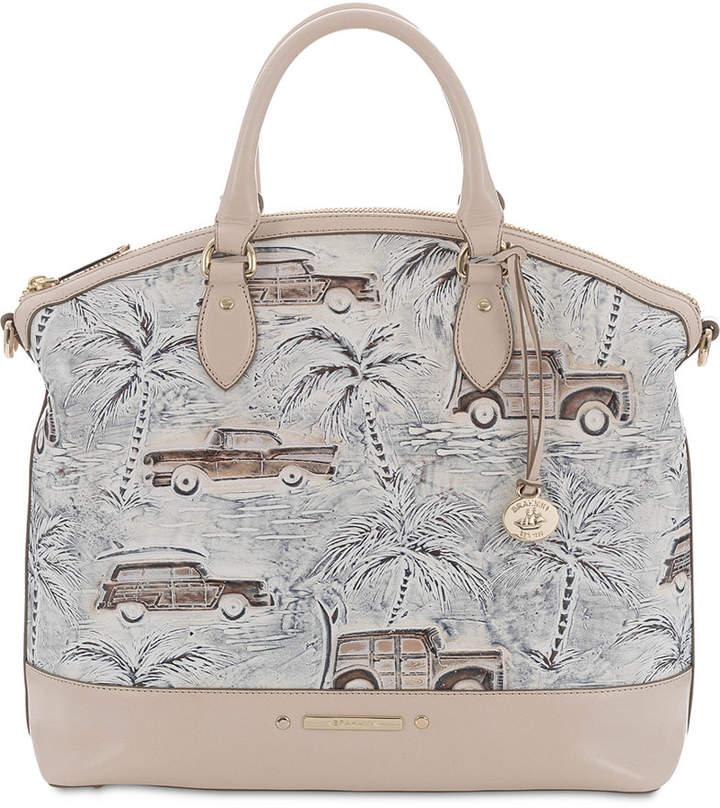 36bcc4e5e9 Ivory Leather Satchel - ShopStyle