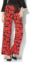 New York & Co. Wide-Leg Pant - Floral Print