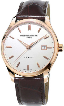Frederique Constant FC-303MV5B4 Classic Index rose gold-plated and stainless steel watch