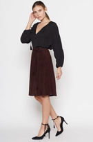 Joie Maise Suede Skirt