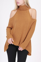Lush Cold Shoulder Sweater
