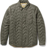 Outerknown Evolution Slim-Fit Quilted Econyl Shirt Jacket