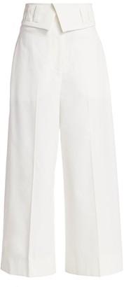 Proenza Schouler Tech Suiting Culottes Pants