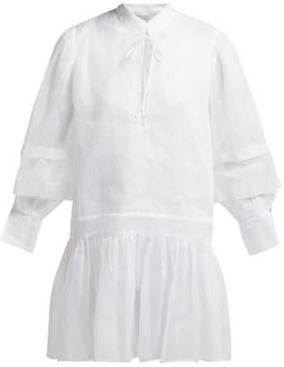 story. White Willow Cotton Organza Dress - Womens - White