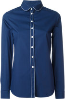 MAISON KITSUNÉ club collar shirt - women - Cotton - 40