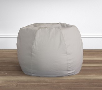 Pottery Barn Kids Gray Twill Anywhere Beanbag Slipcover Only