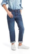 Gap Dark wash girlfriend jeans
