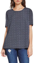 BCBGeneration Raindrop Dotted Top