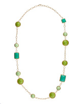 Fragments for Neiman Marcus Green Link Necklace