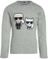 Karl Lagerfeld Long sleeved top mittelgrau