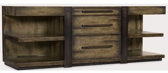 "Hooker Furniture Crafted 84"" Wide 3 Drawer Sideboard"