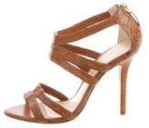 Alexandre Birman Leather Multistrap Sandals