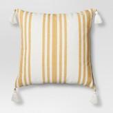 Threshold Woven Striped Throw Pillow