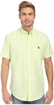 U.S. Polo Assn. Short Sleeve Button Down Oxford Shirt