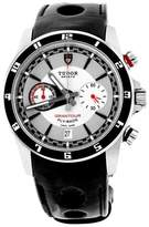 Tudor 20550N Grantour Chronograph Fly-Back Black Lacquered Steel Bezel Watch