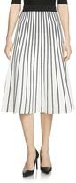 Maje Jibralto Striped Knit Skirt