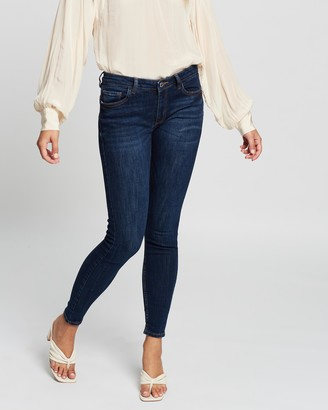 Mng Women's Blue Skinny - Kim Jeans - Size 32 at The Iconic