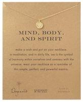 Dogeared Om Symbol Pendant Necklace