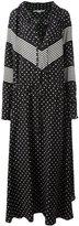 Stella McCartney striped dot maxi dress - women - Silk - 38