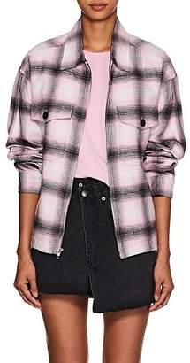 Adaptation Women's Service Plaid Cotton Flannel Jacket