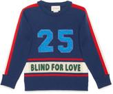 Gucci Children's sweater with appliqués