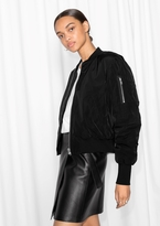 Other Stories Classic Bomber Jacket