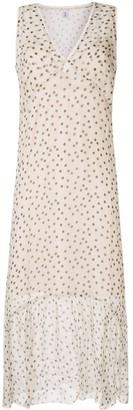 Isabella Collection polka dot slip dress