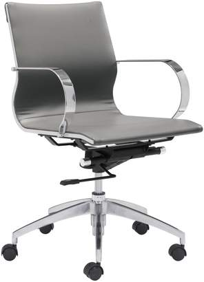 ZUO Modern Glider Low Back Office Chair