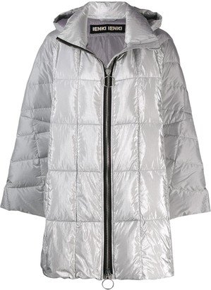 Ienki Ienki hooded padded coat