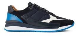 HUGO BOSS Hybrid Sneakers With Monogram Detailing - Light Beige