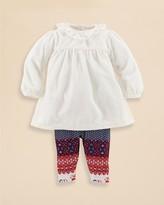 Ralph Lauren Infant Girls' Knit Velvet Tunic & Legging Set - Sizes 3-9 Months