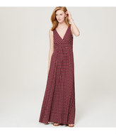 LOFT Daisy V-Neck Maxi Dress