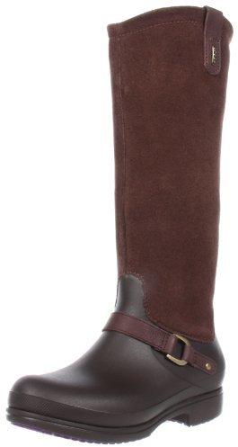 Crocs Women's Equestrian Suede Tall Boot