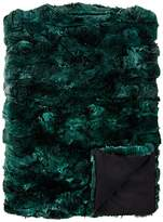 Adrienne Landau Rex Rabbit Fur Throw