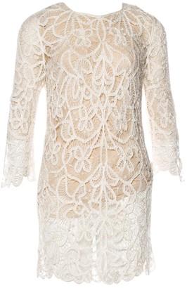 3.1 Phillip Lim Ecru Lace Dress for Women