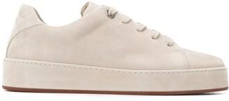 Loro Piana Plain Lace-Up Sneakers