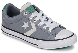 Converse STAR PLAYER OX girls's Shoes (Trainers) in Grey