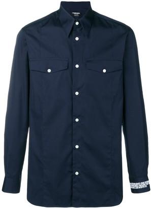 Calvin Klein Embroidered Cuff Shirt