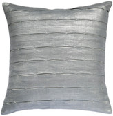 Calvin Klein Silvervine Pleat Cushion Cover