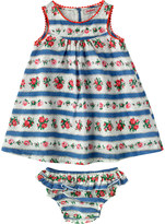 Cath Kidston Ribbon Rose Baby Dress And Briefs