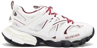 Balenciaga Track Panelled Trainers - White Multi