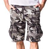 WINSON Men's cotton Work Pocket camouflage Pants Cargo Shorts Military Army Trousers