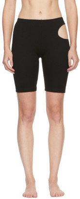 MARIEYAT Black Hunt Shorts