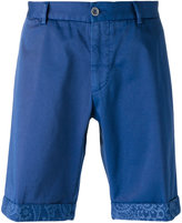 Etro contrast trim chino shorts - men - Cotton/Spandex/Elastane - 50