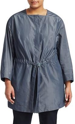 Lafayette 148 New York, Plus Size Stephania Tie-Waist Jacket