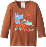 Zutano Woof Screen Tee (Baby) - Chocolate-12 Months
