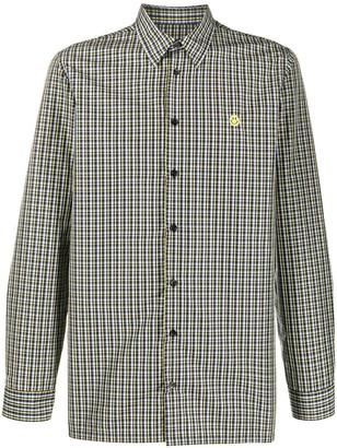 Raf Simons Check Long-Sleeve Shirt